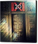 20 Exchange Place Art Deco Canvas Print
