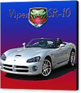 2006 Viper S R 10 Canvas Print by Jack Pumphrey