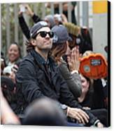 2012 San Francisco Giants World Series Champions Parade - Barry Zito - Img8206 Canvas Print by Wingsdomain Art and Photography