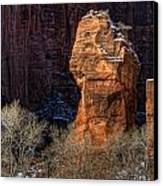 Zion National Park Utah Canvas Print by Utah Images