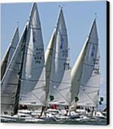 Sf Bay Sailing Canvas Print