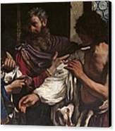Italy, Lazio, Rome, Borghese Gallery Canvas Print