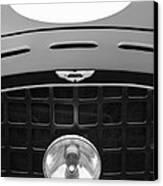1952 Aston Martin Db3 Sports Hood Emblem Canvas Print by Jill Reger