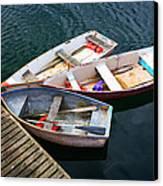 3 Boats Canvas Print by Emmanuel Panagiotakis