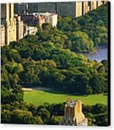 Central Park Canvas Print by Brian Jannsen
