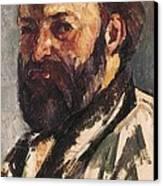 Cezanne, Paul 1839-1906. Self-portrait Canvas Print