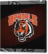 Cincinnati Bengals Canvas Print by Joe Hamilton