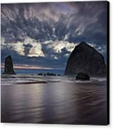 Clearing Storm Canvas Print by Andrew Soundarajan