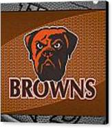Cleveland Browns Canvas Print by Joe Hamilton