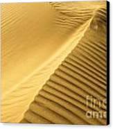 Desert Sand Dune Canvas Print