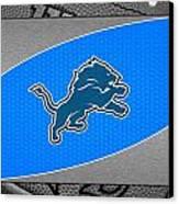 Detroit Lions Canvas Print by Joe Hamilton