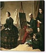 Dominguez Becquervaleriano 1834-1870 Canvas Print by Everett