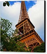 Eiffel Tower Paris France Canvas Print