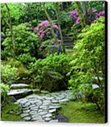 Garden Path Canvas Print by Brian Jannsen