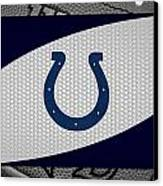 Indianapolis Colts Canvas Print by Joe Hamilton