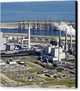 Maasvlakte, Europort, Rotterdam Canvas Print