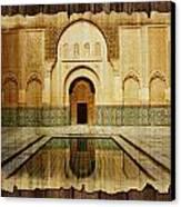 Medina Of Marakkesh Canvas Print