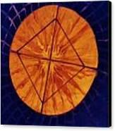 Mosaic Table Top Canvas Print