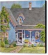 My Blue Heaven Canvas Print by Mary Ellen Mueller Legault