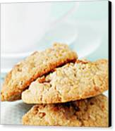 Oatmeal Cookies Canvas Print