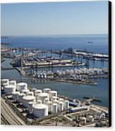 Port Of Tarragona, Catalonia Canvas Print