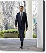 President Obama Canvas Print by JP Tripp