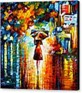 Rain Princess Canvas Print