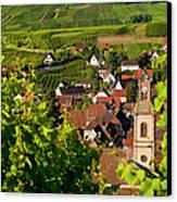 Riquewihr Alsace Canvas Print by Brian Jannsen