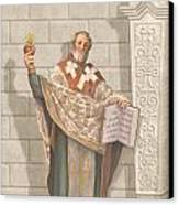 Saint Augustine Canvas Print by John Alan  Warford