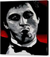 Scarface 2013 Canvas Print by Luis Ludzska
