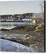 South Bristol On The Coast Of Maine Canvas Print