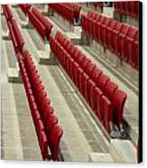 Stadium Seats Canvas Print by Frank Gaertner