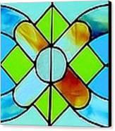 Stained Glass Window Canvas Print by Janette Boyd