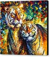 Sweetness Canvas Print by Leonid Afremov
