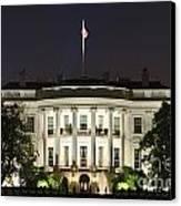 The White House Canvas Print by John Greim