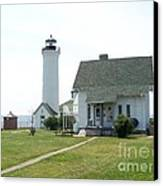 Tibbetts Point Light Canvas Print by Kevin Croitz