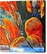Watson Lake Canvas Print by Robert Hooper