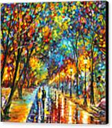 When Dreams Come True Canvas Print by Leonid Afremov