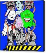 30 Years Of Ghostbusters Canvas Print by Gary Niles