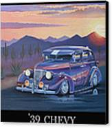 '39 Chevy Canvas Print