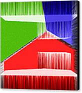 3d Abstract 3 Canvas Print by Angelina Vick
