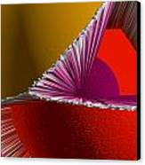 3d Abstract 5 Canvas Print by Angelina Vick