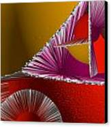 3d Abstract 6 Canvas Print by Angelina Vick