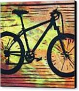 Bike 10 Canvas Print by William Cauthern