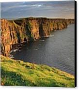 Cliffs Of Moher Sunset Ireland Canvas Print