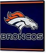 Denver Broncos Canvas Print by Joe Hamilton