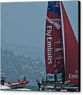 Emirates Team New Zealand Canvas Print by Steven Lapkin