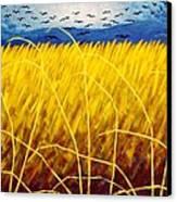 Homage To Van Gogh Canvas Print by John  Nolan