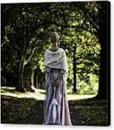 Jane Austen Canvas Print by Joana Kruse
