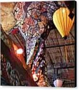 Mosaic Pillar Canvas Print